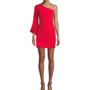 Milly Red Mini Dress